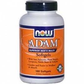 NOW Foods ADAM Superior Mens Multiple Vitamin - 180 Softgels