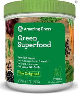 Amazing Grass Green Super Food 30 Serv-Original