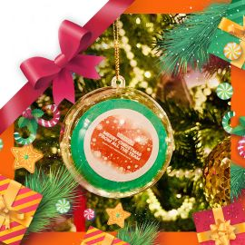 LIMITED EDITION Protein Baubles - 6 High Protein Snacks - Chocolate Honeycomb