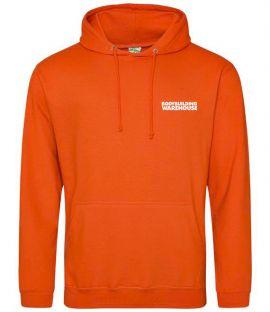 Bodybuilding Warehouse Hoodie - Orange