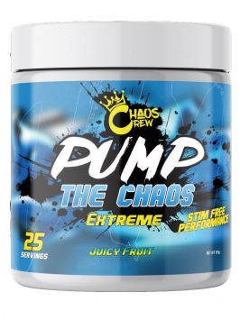 Chaos Crew PUMP the Chaos Extreme (25 Servings)