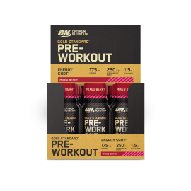 ON Gold Standard Pre-Workout ENERGY SHOT 12 x 60ml