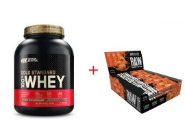 Gold Standard Whey and Warrior RAW Bars
