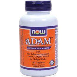 NOW Foods ADAM Superior Mens Multiple Vitamin - 60 Tabs