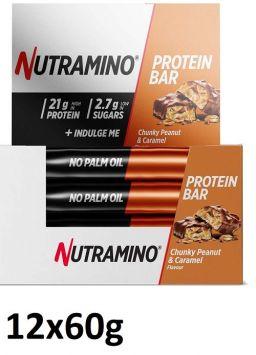 Nutramino Protein Bar (12 Bars) - Chunky Peanut Caramel