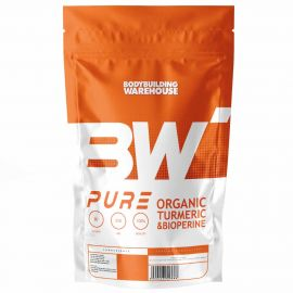 Pure Organic Turmeric (Curcumin) with Bioperine - 510mg - V-Caps