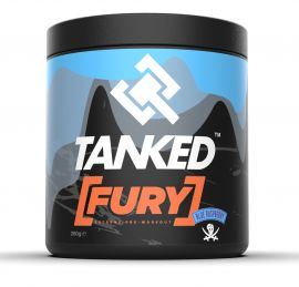 Tanked Fury Best Pre-Workout Supplement