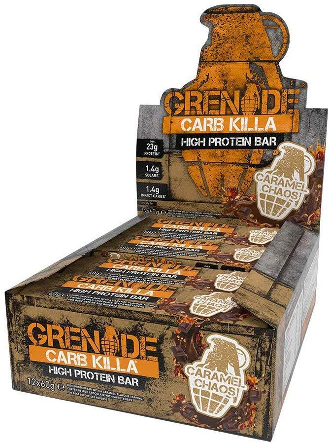Grenade Carb Killa - 12 Bars-Caramel Chaos
