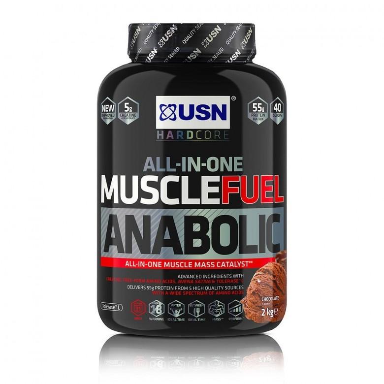 USN Muscle Fuel MFA - 2kg -Vanilla   Protein Powder