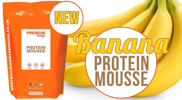 Banana Protein Mousse