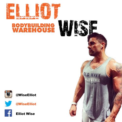 Bodybuilding Warehouse Ambassador Elliot Wise