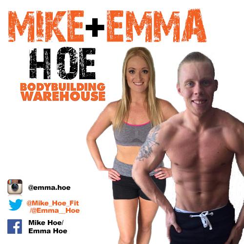 Bodybuilding Warehouse Ambassador Mike and Emma