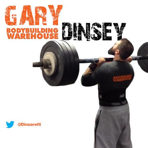 Bodybuilding Warehouse Ambassador Gary Dinsey