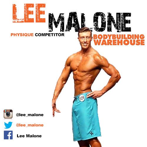Bodybuilding Warehouse Ambassador Lee Malone