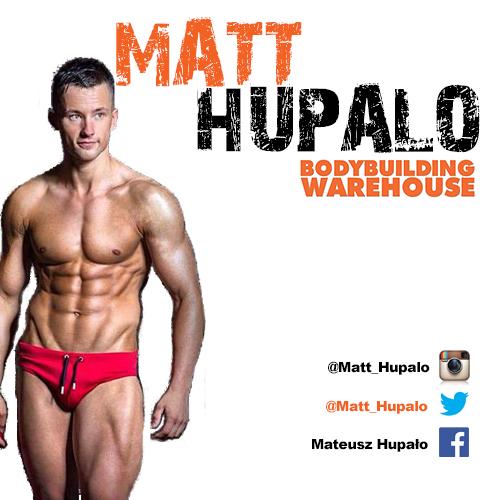 Bodybuilding Warehouse Ambassador Matt Hupalo