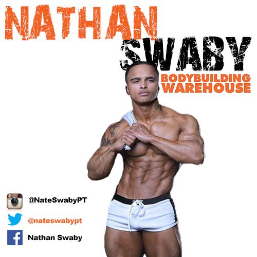 Bodybuilding Warehouse Ambassador Nathan Swaby