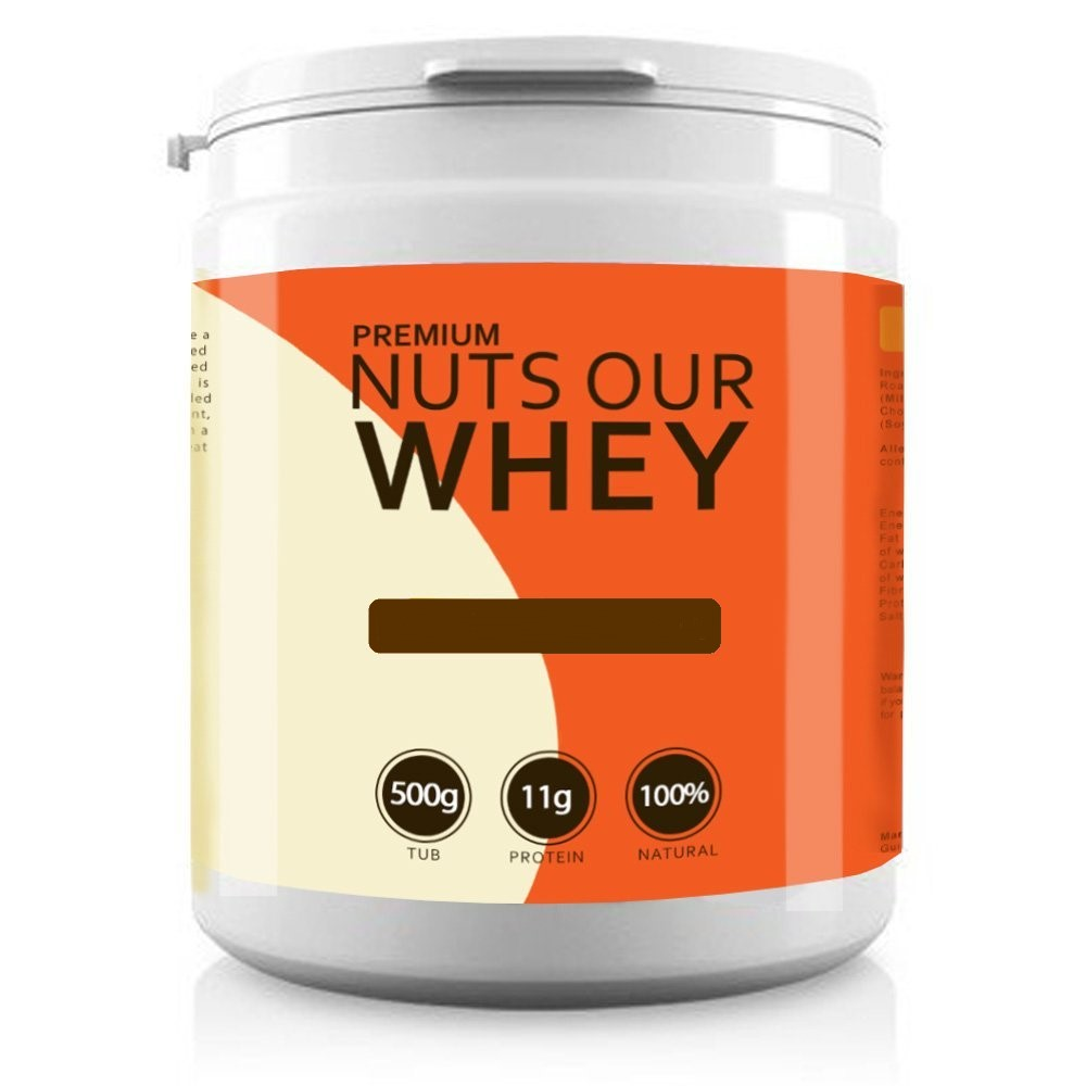 Nuts Our Whey Mystery Edition 500g Dated Jan- 18 Bodybuilding Warehouse