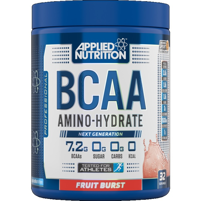 BCAA Amino-Hydrate - 450g-Lemon Lime Branch Chain Amino Acids Applied Nutrition