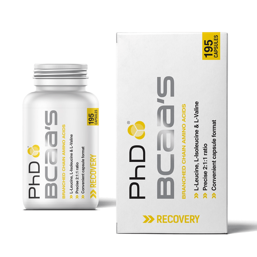 Phd Bcaa 195 Capules (late Dated 08/2017) Bodybuilding Warehouse Phd Nutrition