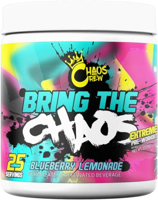 Bring The (25 Servings) - Blueberry Lemonade Pre-workout Supplements Chaos Crew