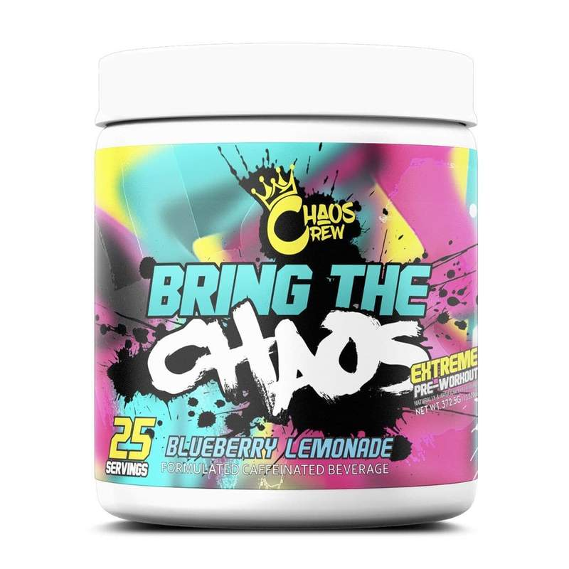 Bring The (25 Servings) - Pineapple Cooler (limited Edition) Pre-workout Supplements Chaos Crew