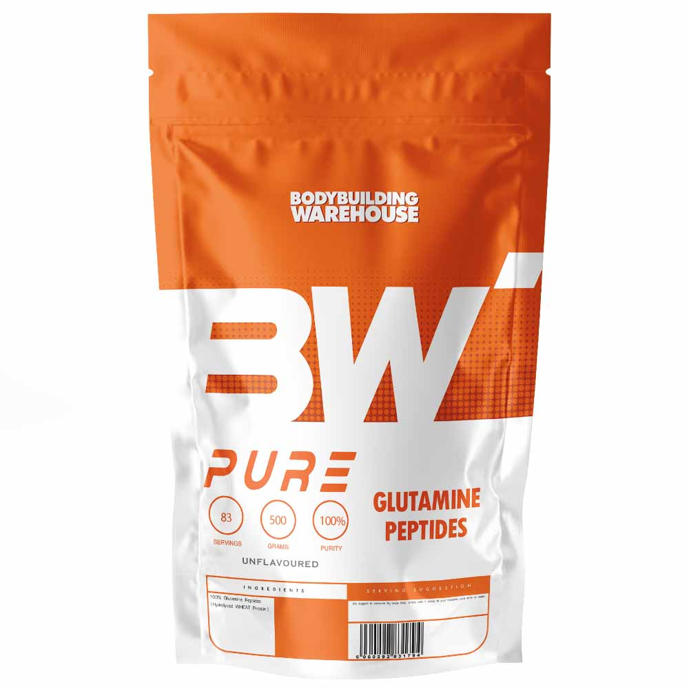 Pure Glutamine Peptides-Unflavoured-1kg - Bcaa And Eaa - Bodybuilding Warehouse