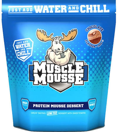 *sale* Muscle Mousse - 750g-chocolate Bodybuilding Warehouse Genetic Supplements