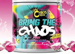 Bring The (25 Servings) - Pink Bubblegum (limited Edition) Pre-workout Supplements Chaos Crew