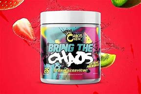 Bring The (25 Servings) - Strawberry Kiwi (limited Edition) Pre-workout Supplements Chaos Crew
