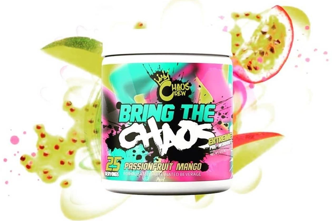 Bring The (25 Servings) - Passionfruit Mango Pre-workout Supplements Chaos Crew