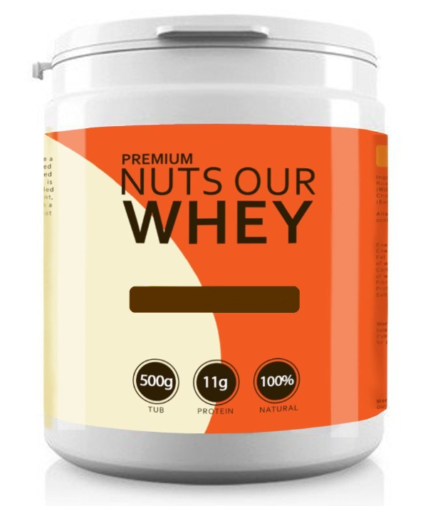 Nuts Our Whey -banana Nut-500g Dated Jan 18 Bodybuilding Warehouse
