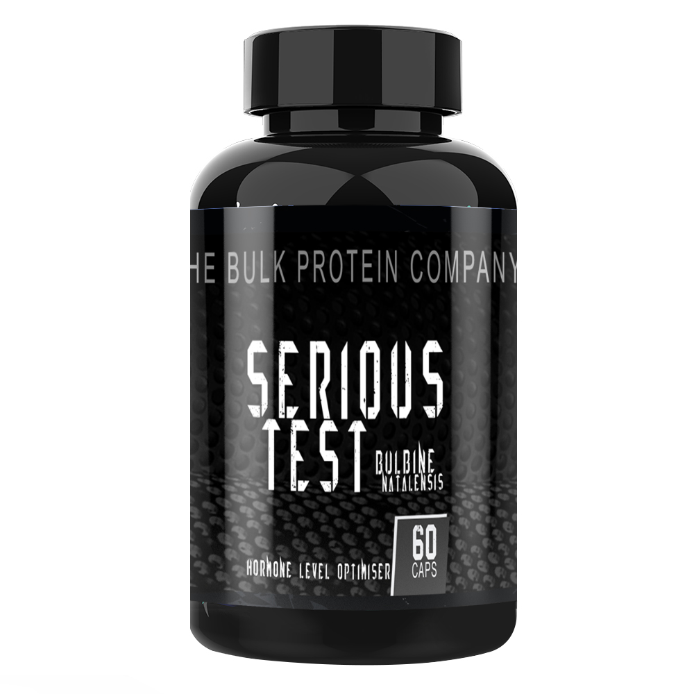 Serious Test - 60 Capsules Vitamins & Minerals The Bulk Protein Company