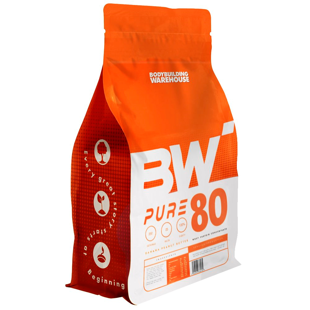 Pure Whey 80 Concentrate Protein Powder - Millionaires Shortcake 25g Bodybuilding Warehouse