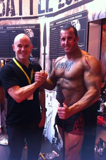 Bodybuilding Warehouse at Bodypower Expo 2013