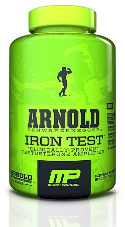 Arnold Schwarzenegger Series Iron Test - 90 Caps