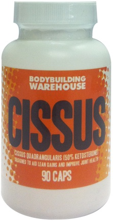 Vitamins & Supplements Bodybuilding Warehouse Cissus (50% Ketosterone, 400mg) - 90 Caps