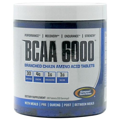 Gaspari BCAA 6000 - 180 Tabs