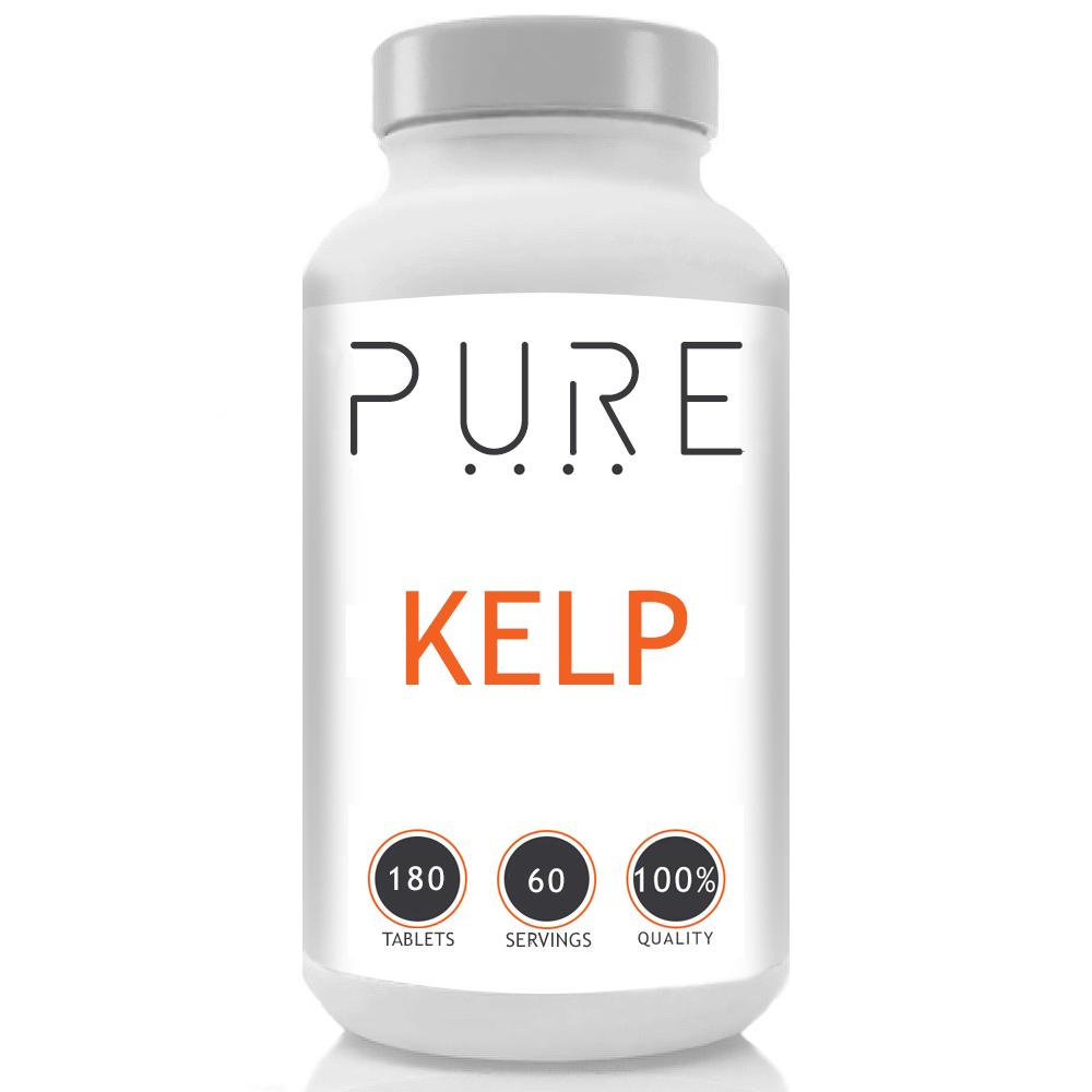 Pure Kelp Capsules - 600mg