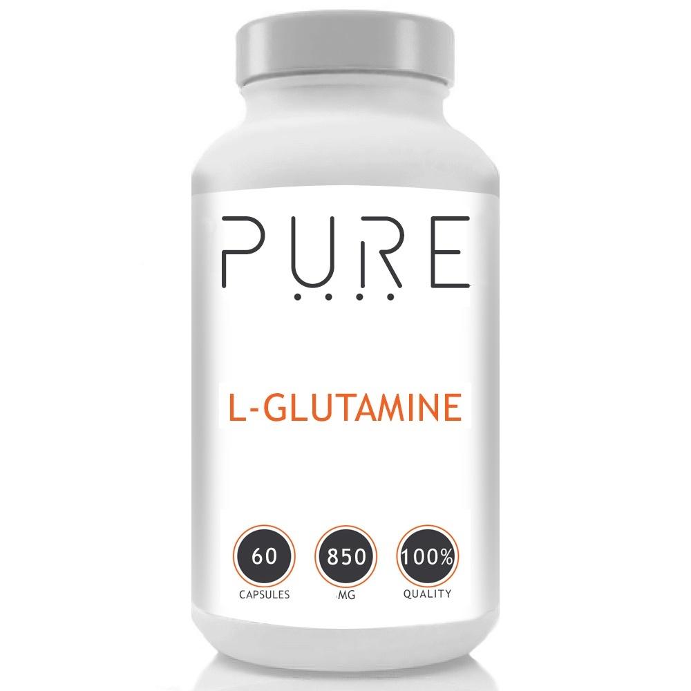 Pure L-Glutamine - 60 Tablets