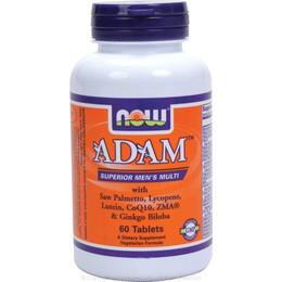 Vitamins & Supplements NOW Foods ADAM Superior Mens Multiple Vitamin - 60 Tabs