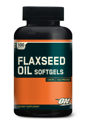 ON Flaxseed Oil - 100 Softgels