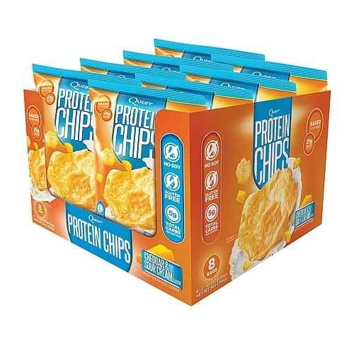 Quest Protein Chips x 8