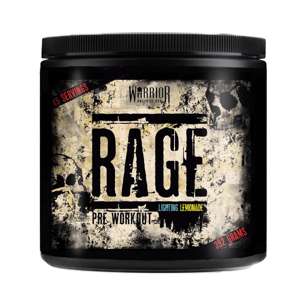 Vitamins & Supplements Warrior RAGE Pre-Workout - 392g