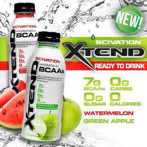 Scivation Xtend BCAA RTD - 12 x 500ml Bottles