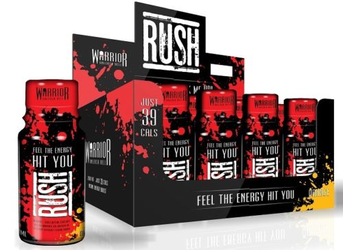Vitamins & Supplements Warrior Rush - Hyper Strength Energy Shot - 12 x 60ml Bottles