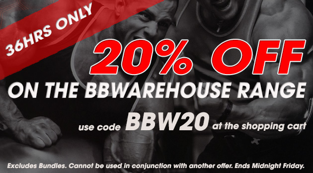 20% Off BBWarehouse
