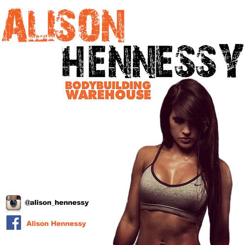 Bodybuilding Warehouse Ambassador Alison Hennessy