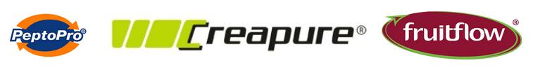 PeptoPro Creapure Fruitflow Logo