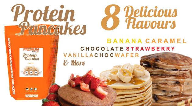 Protein Pancakes in 8 Delicious Flavours!