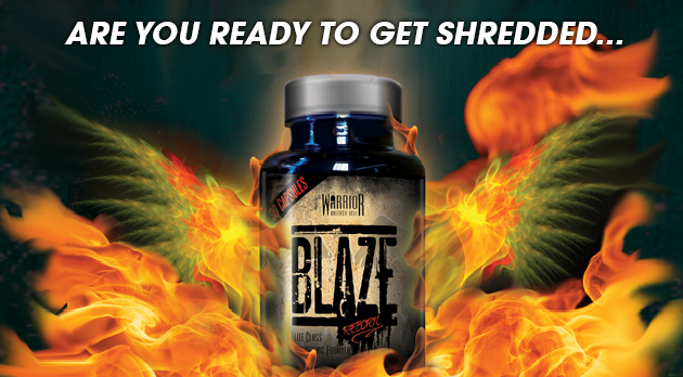 Warrior Blaze Fat Burners